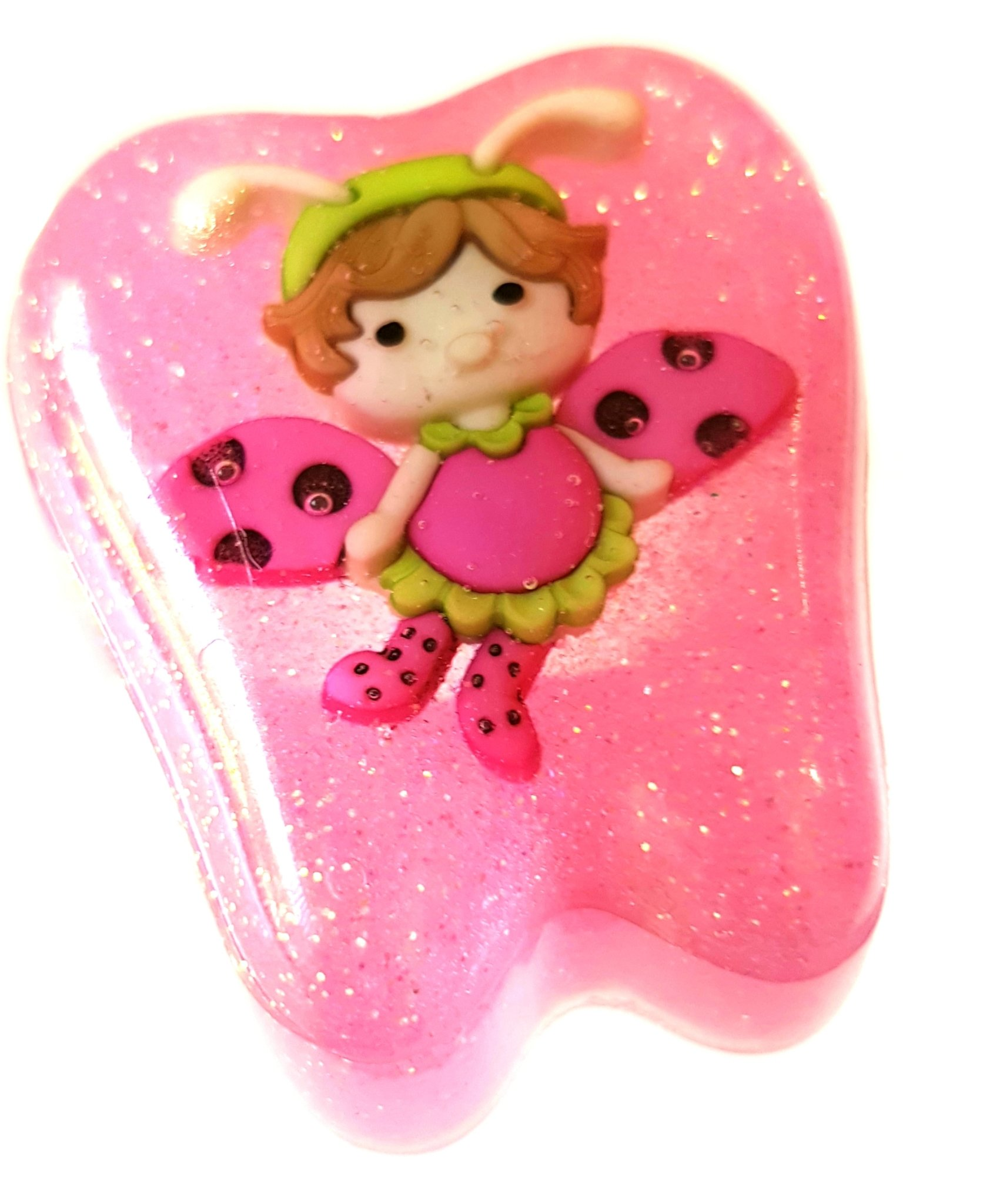 Tooth Fairy Box Pink Flutter bug 00210