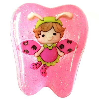 Tooth Fairy Box Pink Flutter bug
