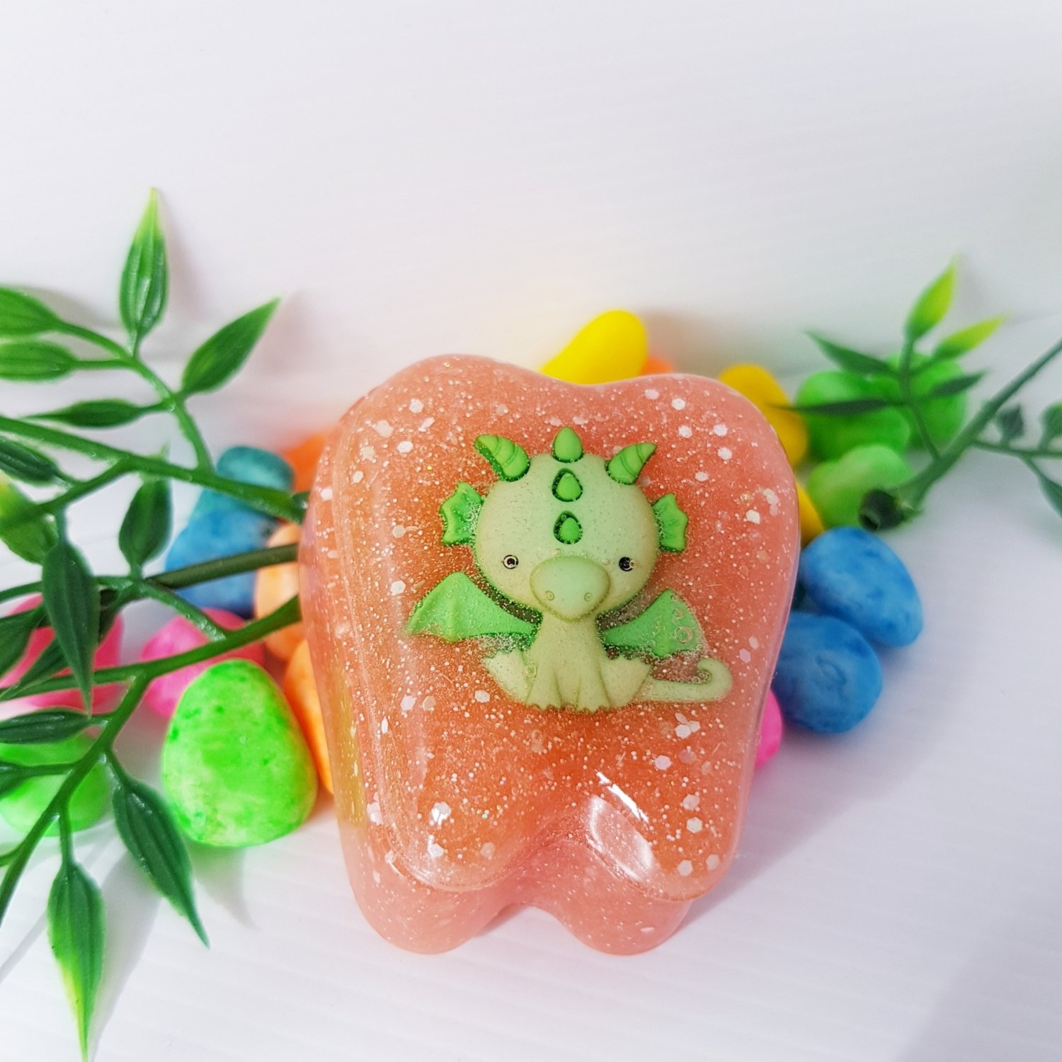 Tooth Fairy Box Green Dragon