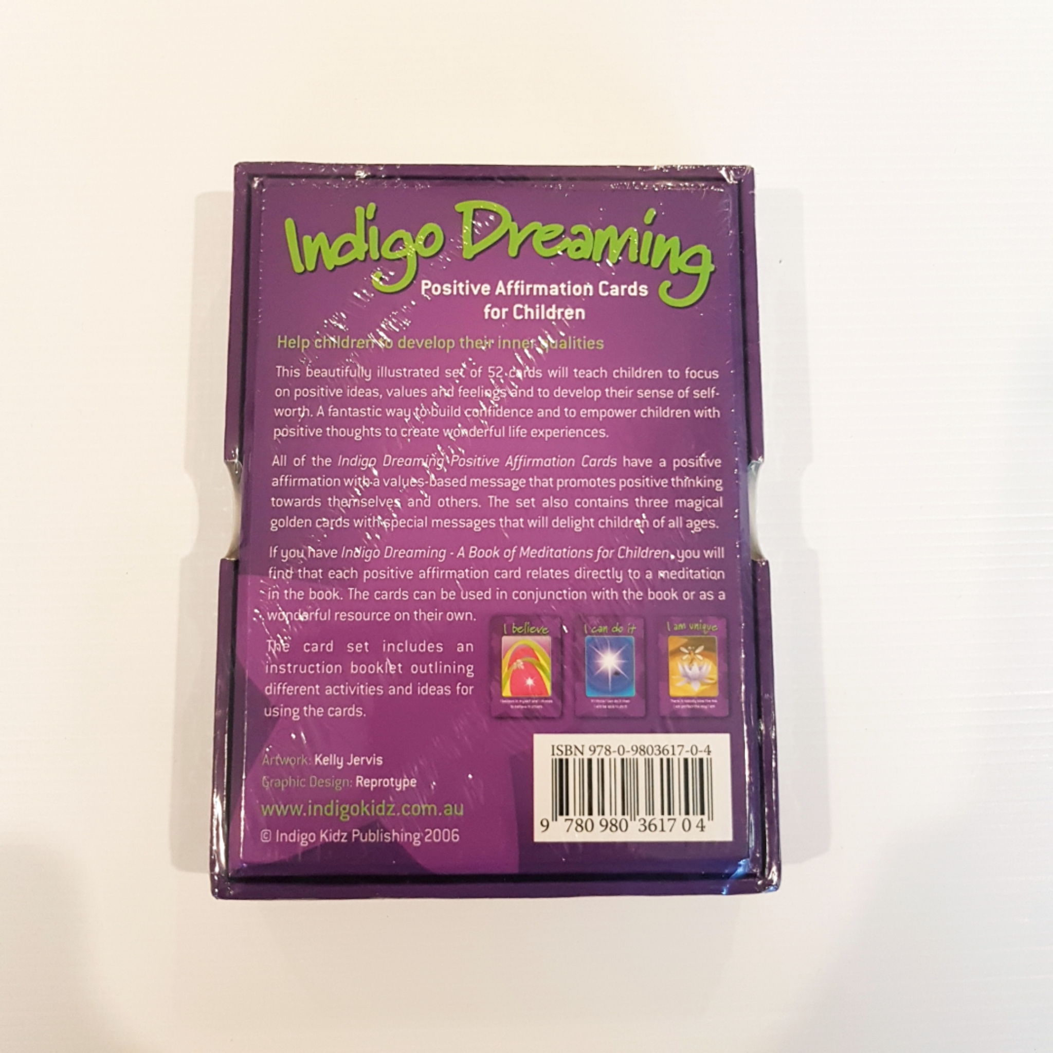 Indigo Dreaming Affirmation Cards (Set)