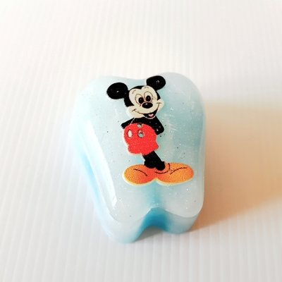 Mouse Tooth Fairy Box light blue