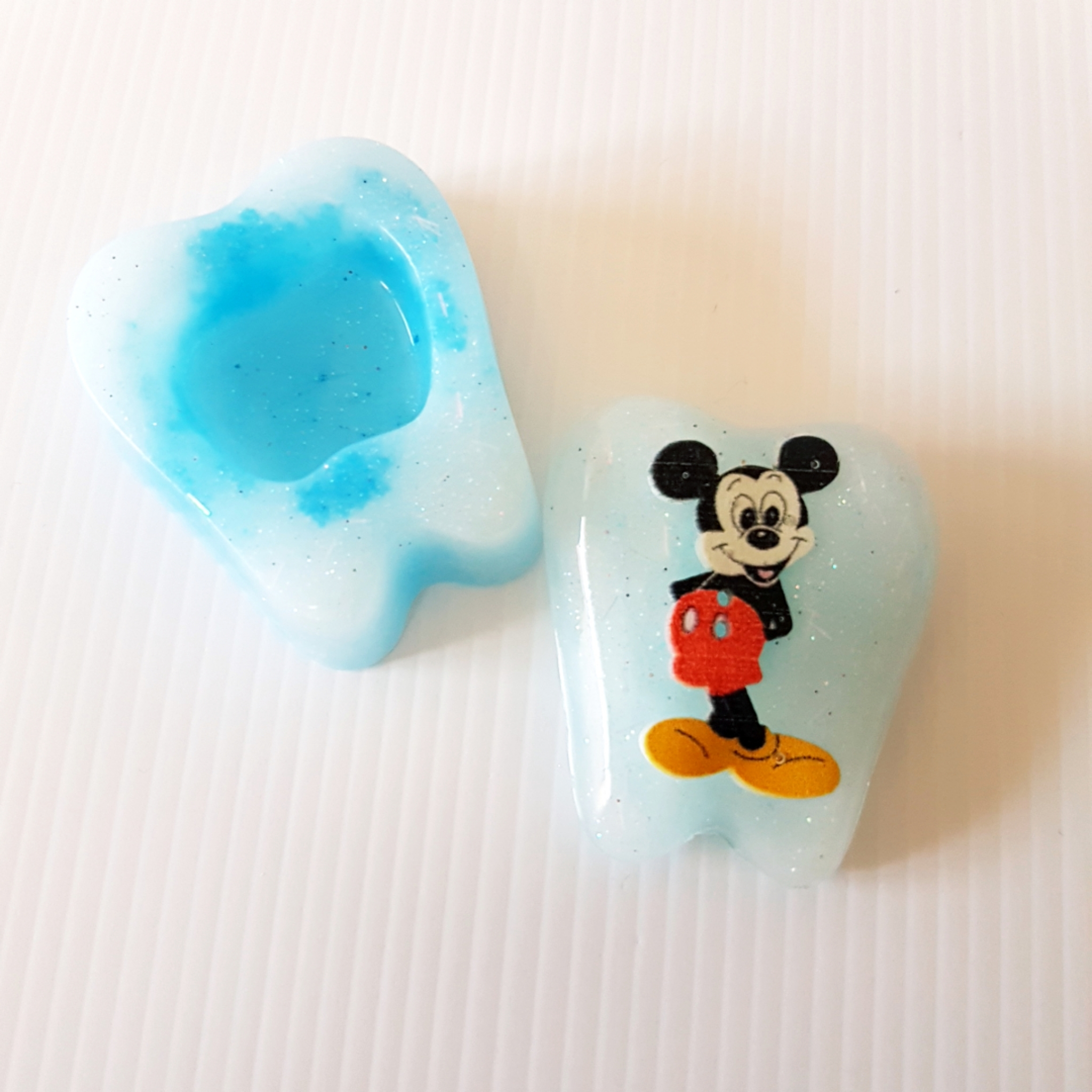 Mickey Mouse Tooth Fairy Box light blue
