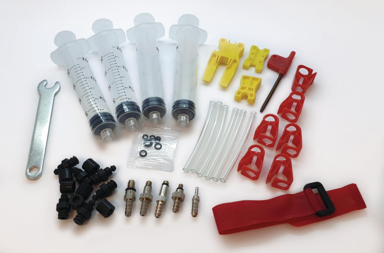 DOT Oil - Pro Bleed Kit Suitable for Avid, SRAM, Hope, Formula, Hayes, Bengal