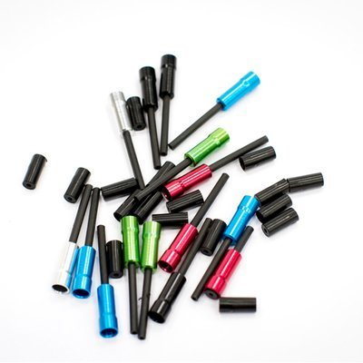 Coloured Alloy Ferrules x60 (Bulk Packed & Mixed)
