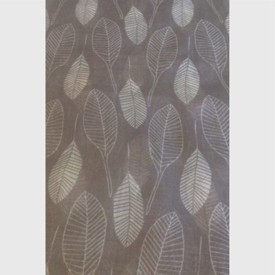 Two Tone Leaves Scarf