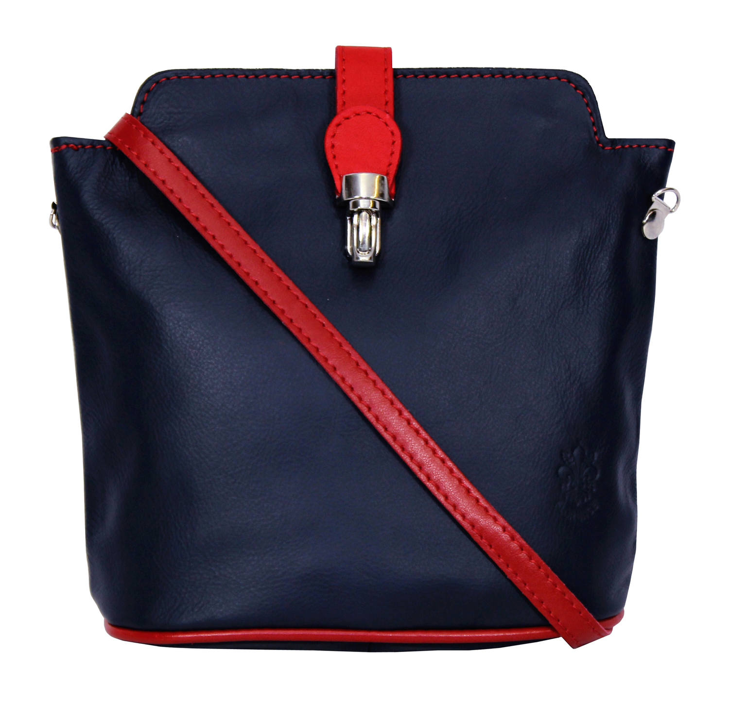Navy With Red Trim