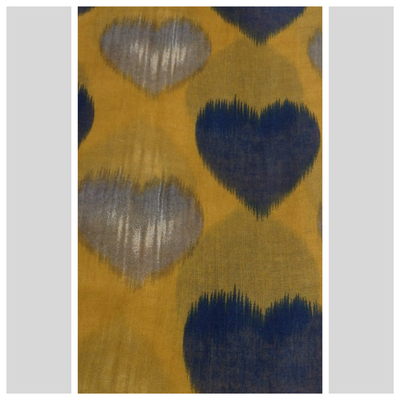 Faded Heart Scarf