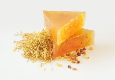 Spanish Amber glycerin soap bar