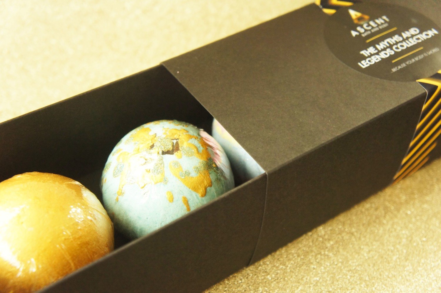 Myths and Legends Bath Ball Gift Box
