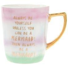 Mermaid themed mug