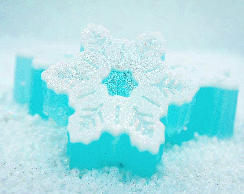 Snow Angel Glycerin Soap Bar
