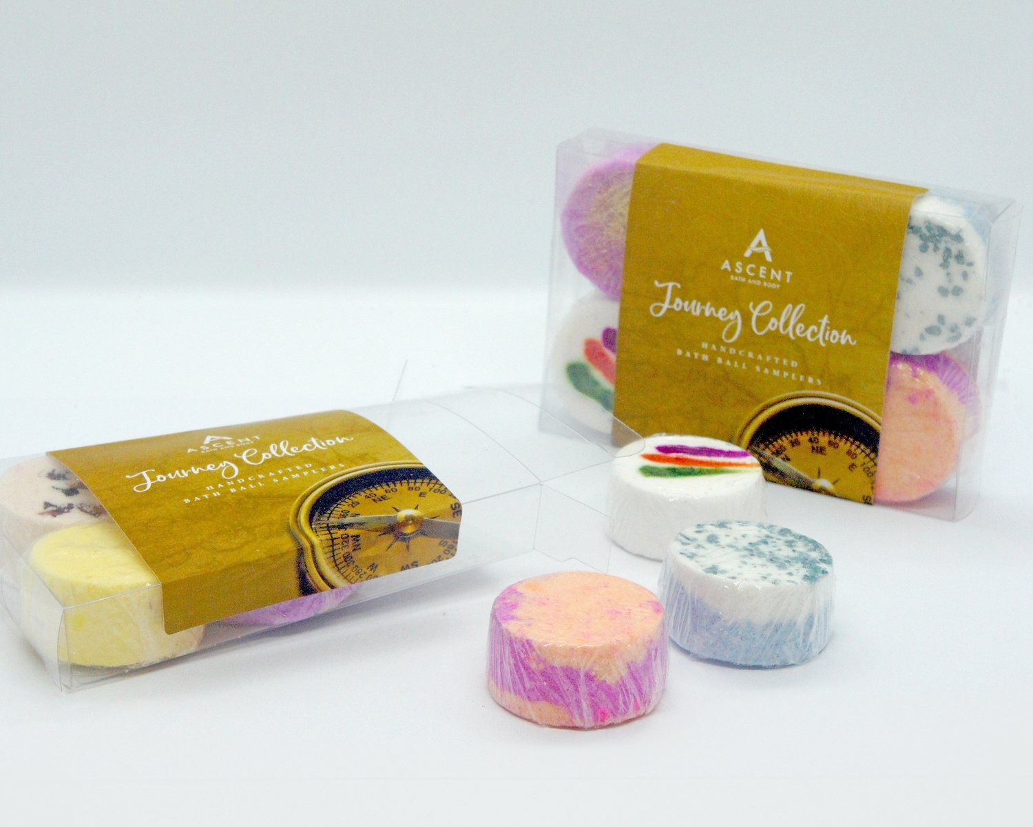 The Journey Collection Mini Bath Bomb Pack