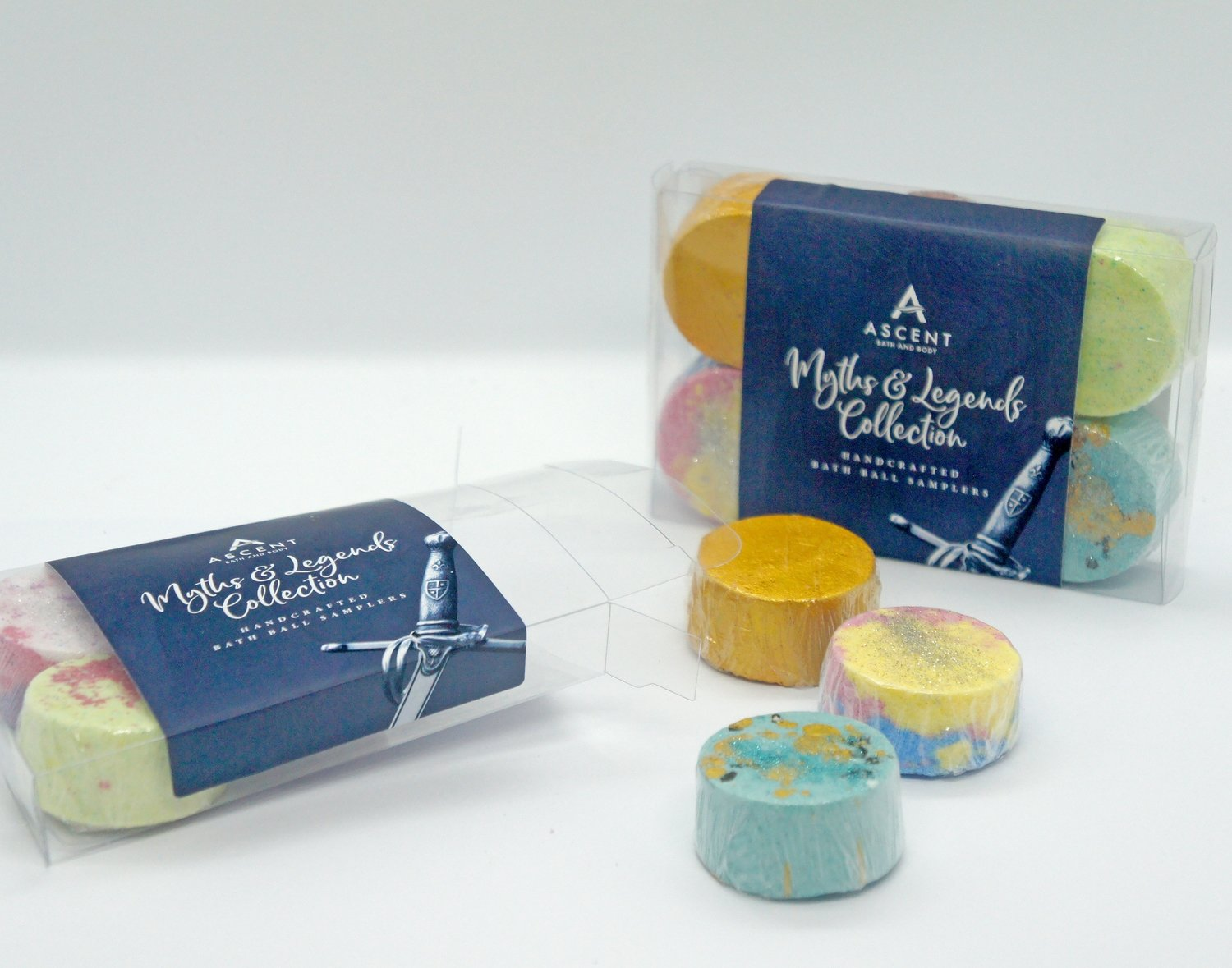 The Myths and Legends Mini Bath Bomb Pack