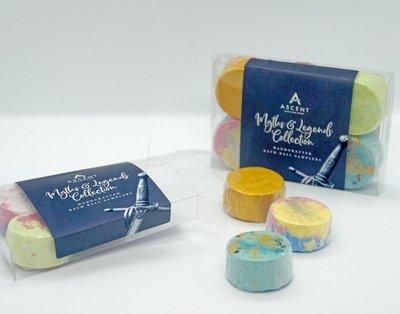 The Myths and Legends Mini Bath Bomb Pack
