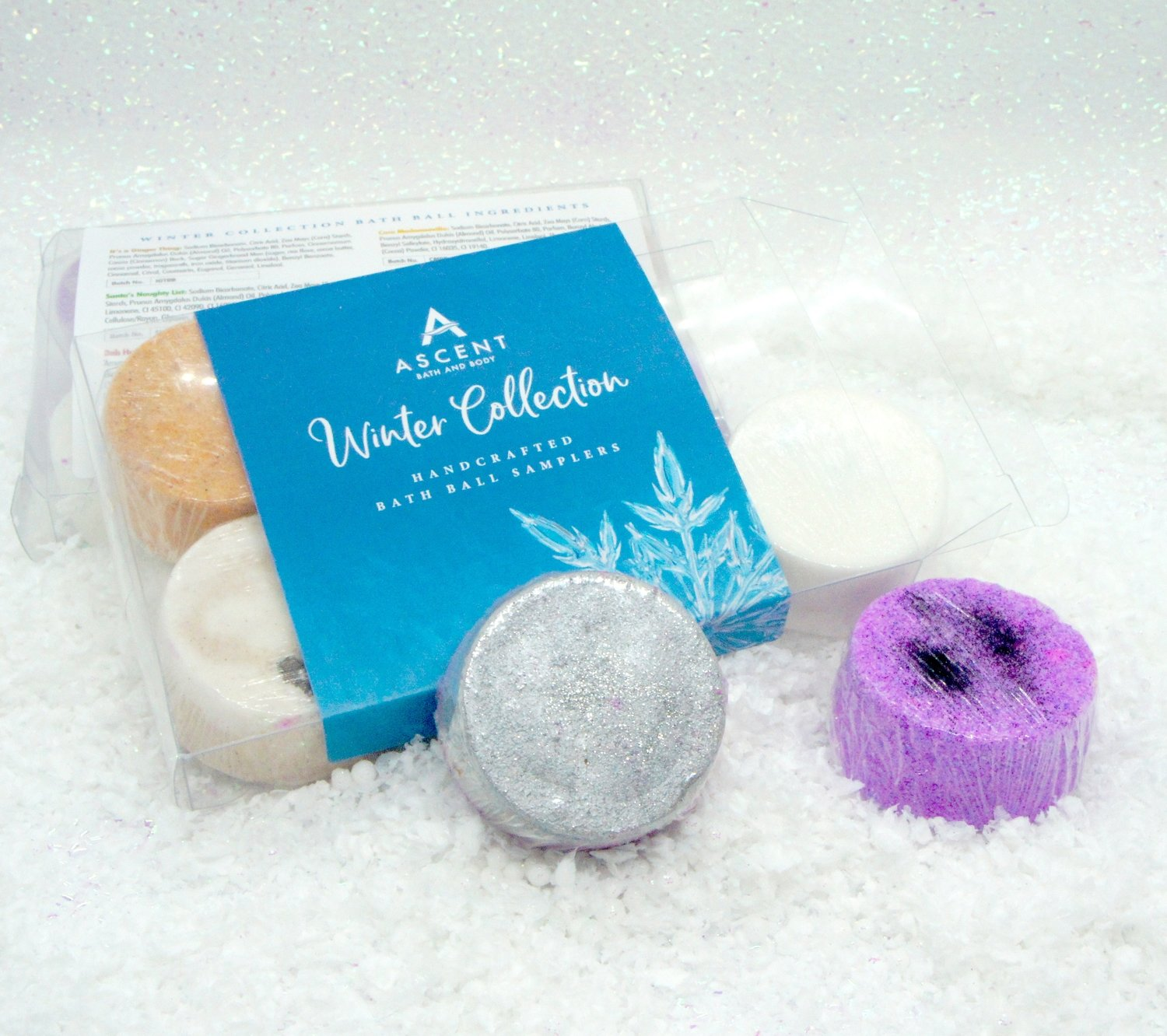 The Winter Collection Mini Bath Bomb Pack