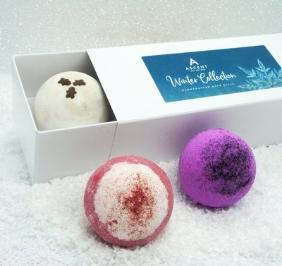 The Winter Collection Bath Ball Gift Box