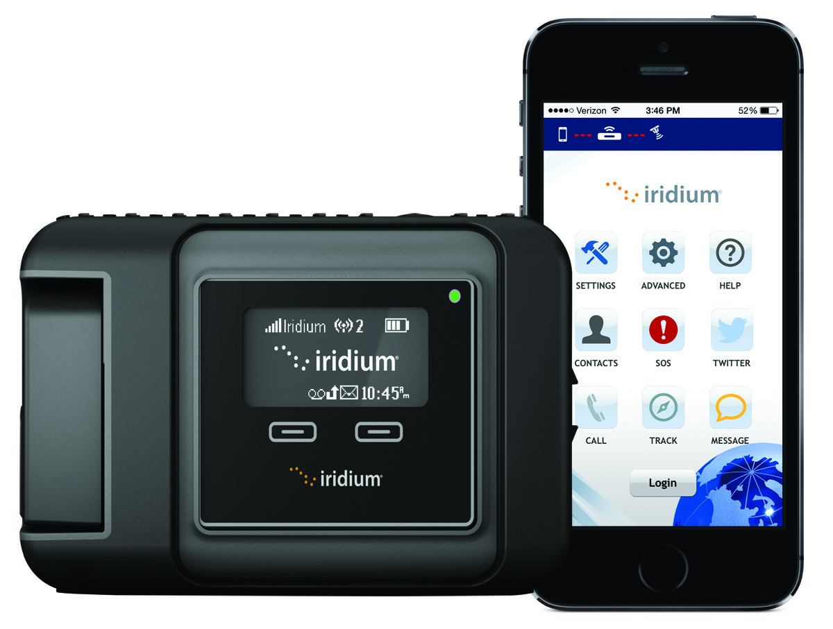 Аренда спутниковой точки доступа Iridium GO!
