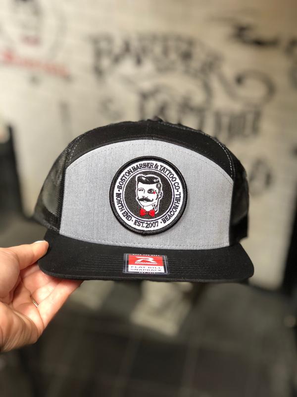 BBTC Mesh SnapBack (gray/Black)