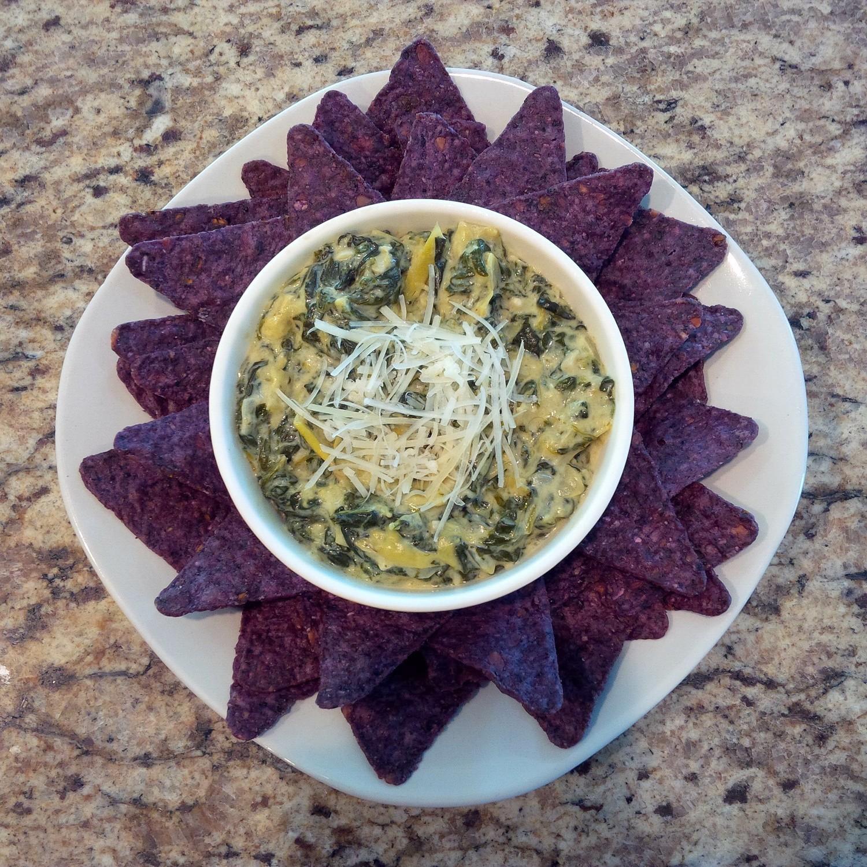 Homemade Spinach & Artichoke Dip