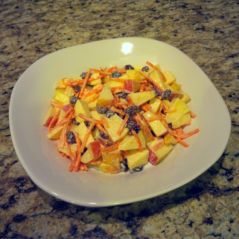 Apple Carrot Salad