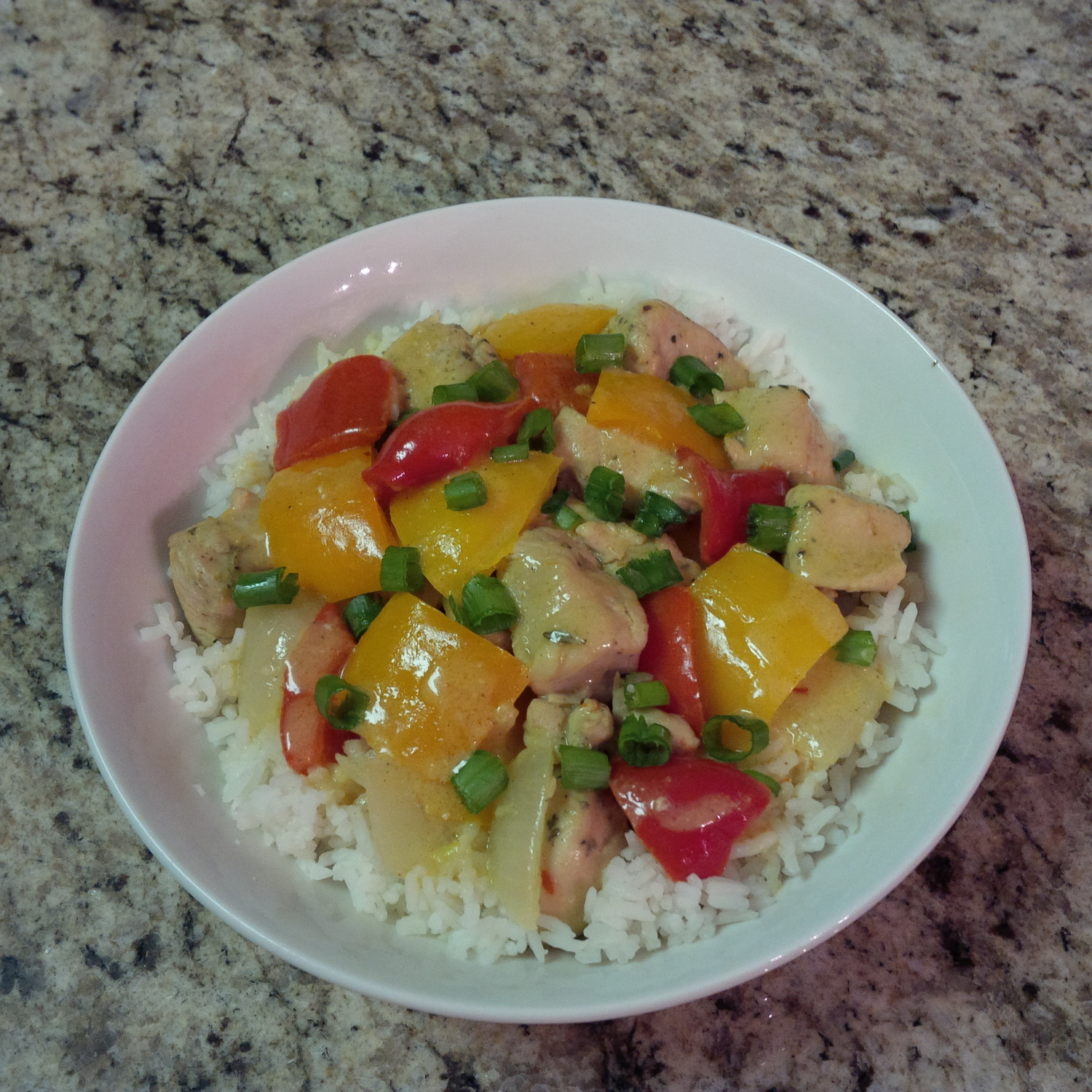 Organic Coconut Curry Chicken