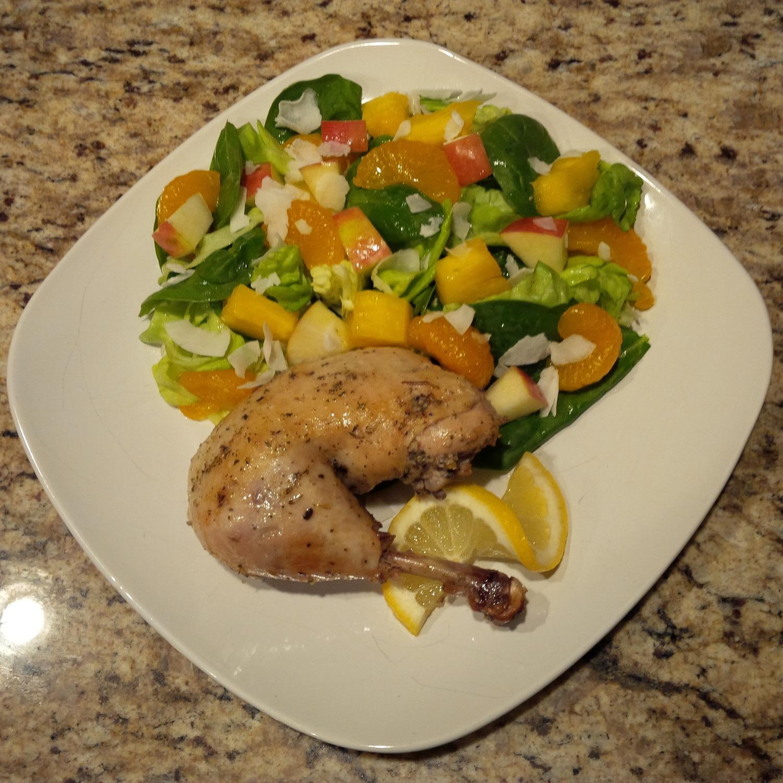 Organic Lemon Herb Roasted Chicken