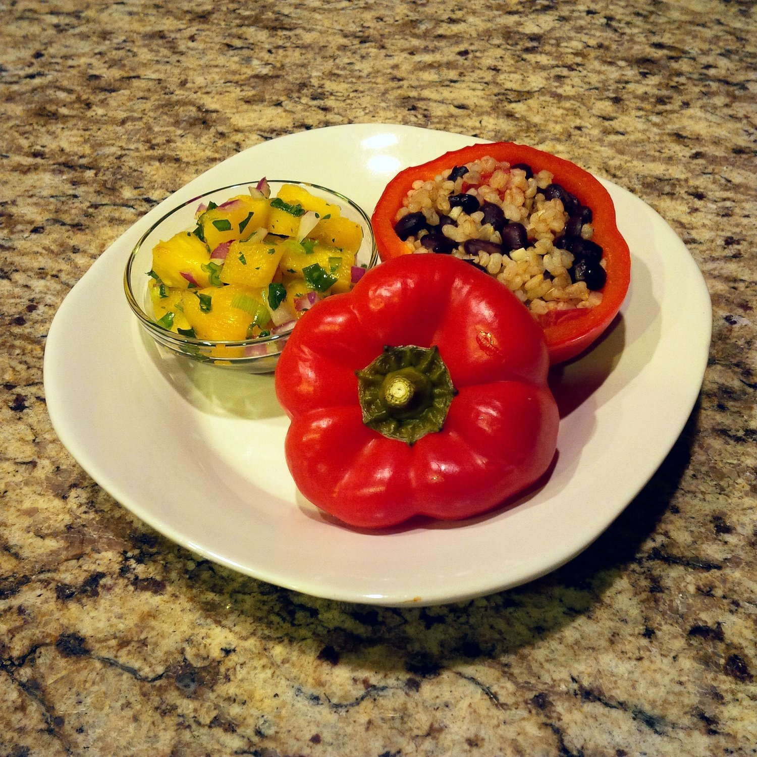 Family Meal Deal - Organic Stuffed Peppers