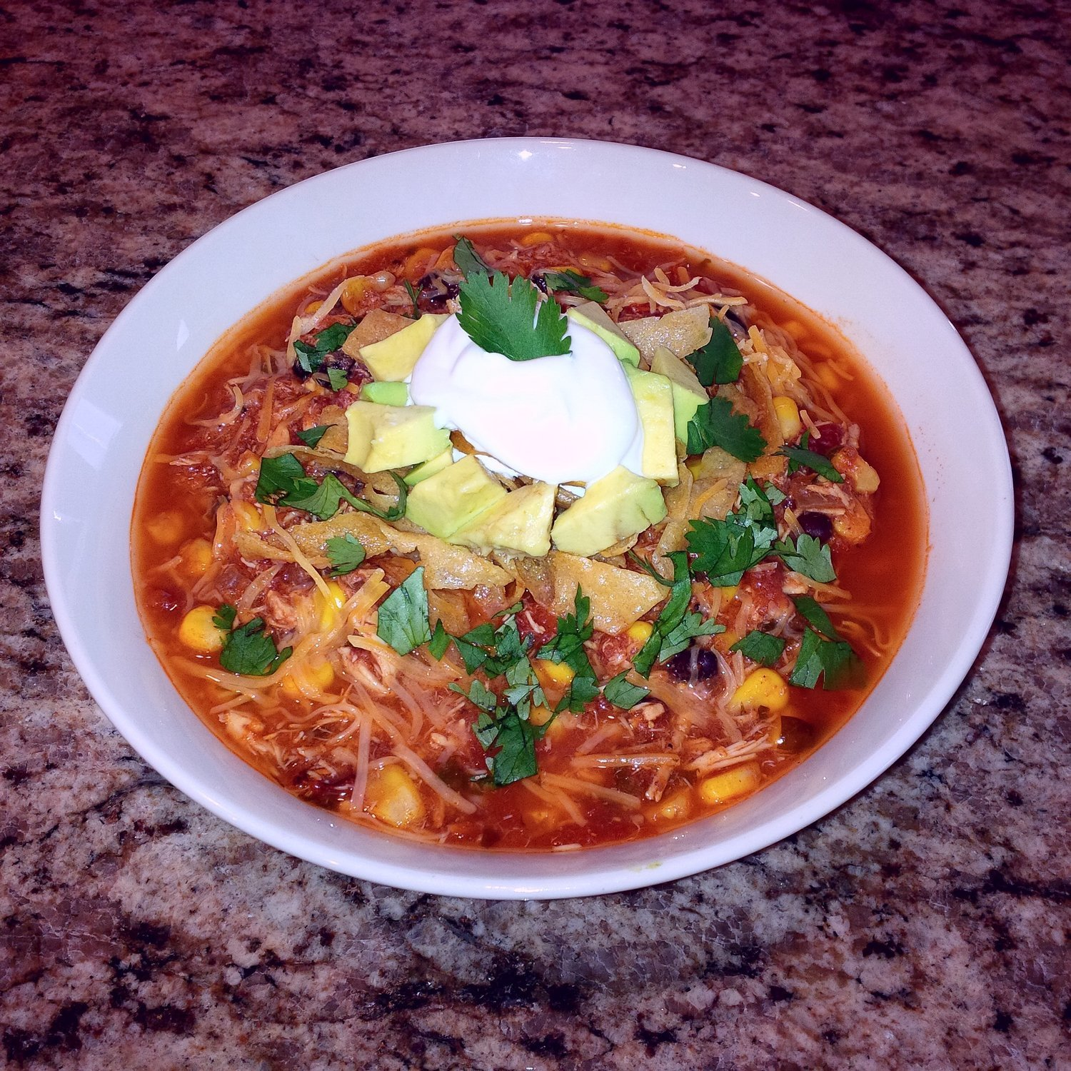 Family Meal Deal - Organic Chicken Tortilla Soup
