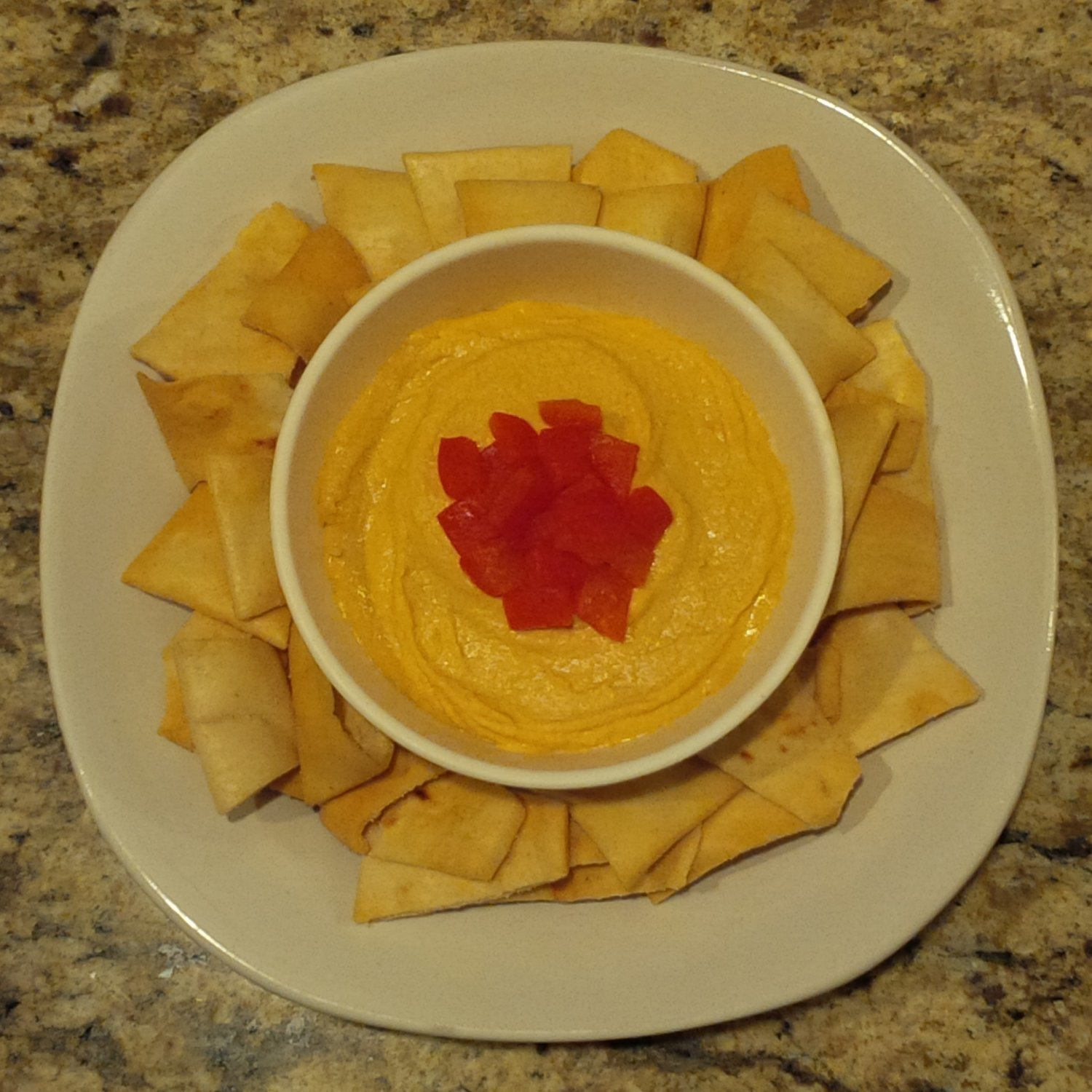 Family Meal Deal - Organic Roasted Red Pepper Hummus