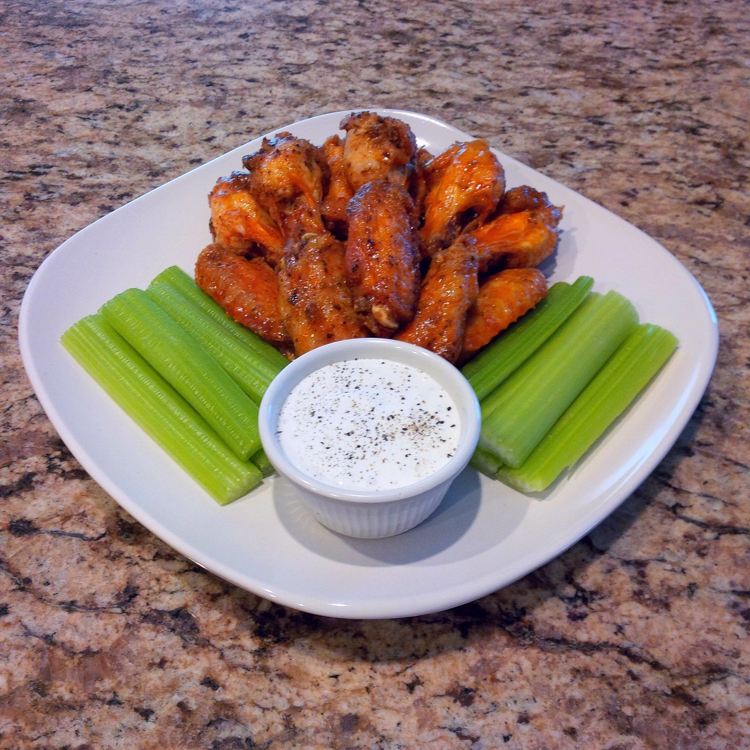 Organic Buffalo Wings