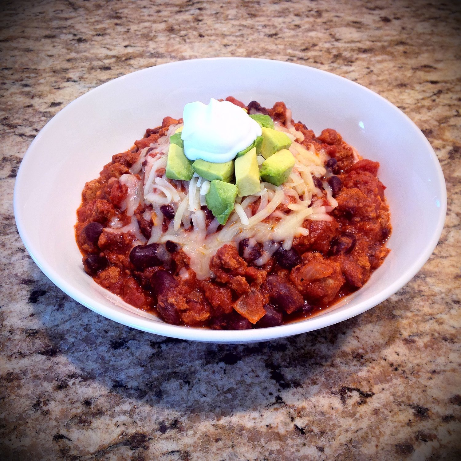 Organic Turkey Chili