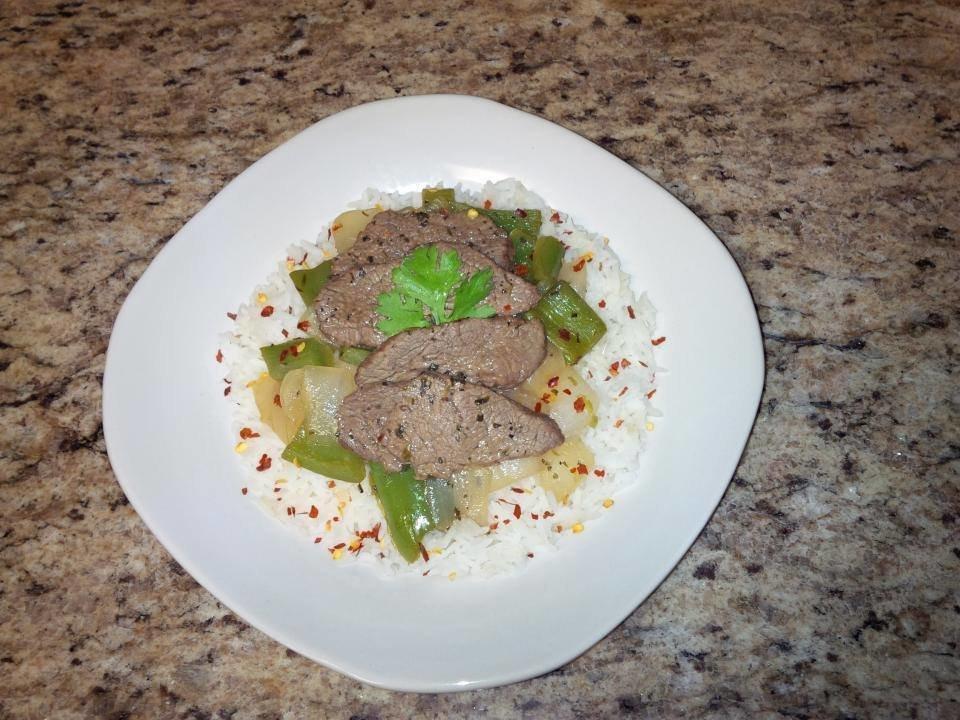 Organic Pepper Steak