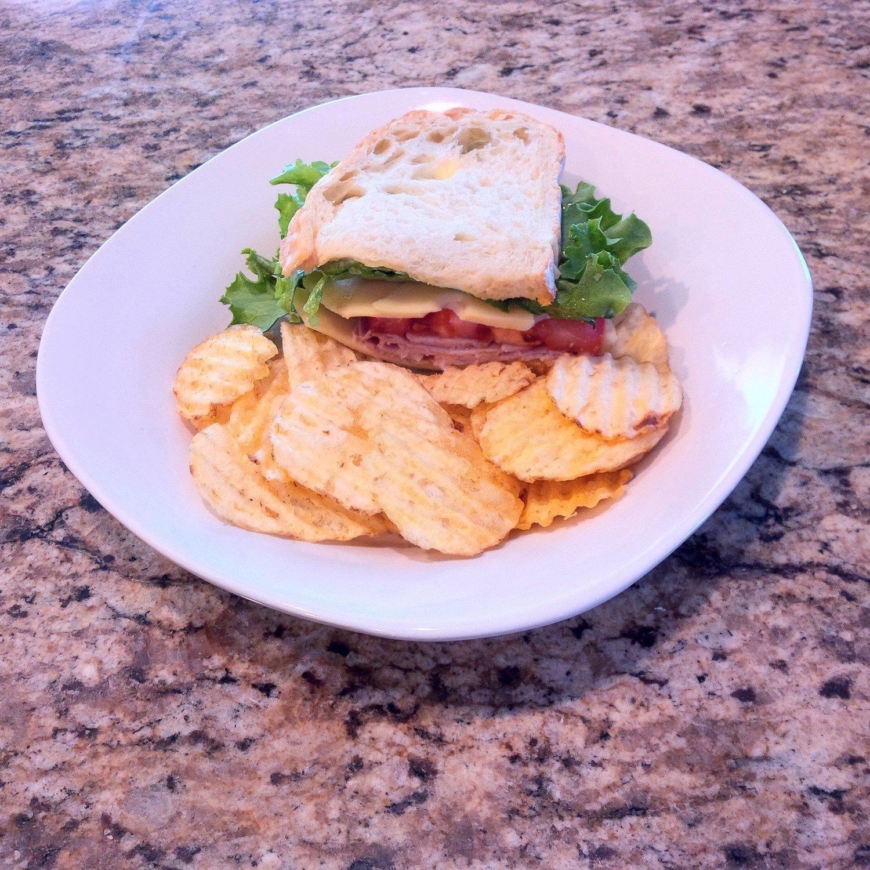 Organic Ham Sandwich