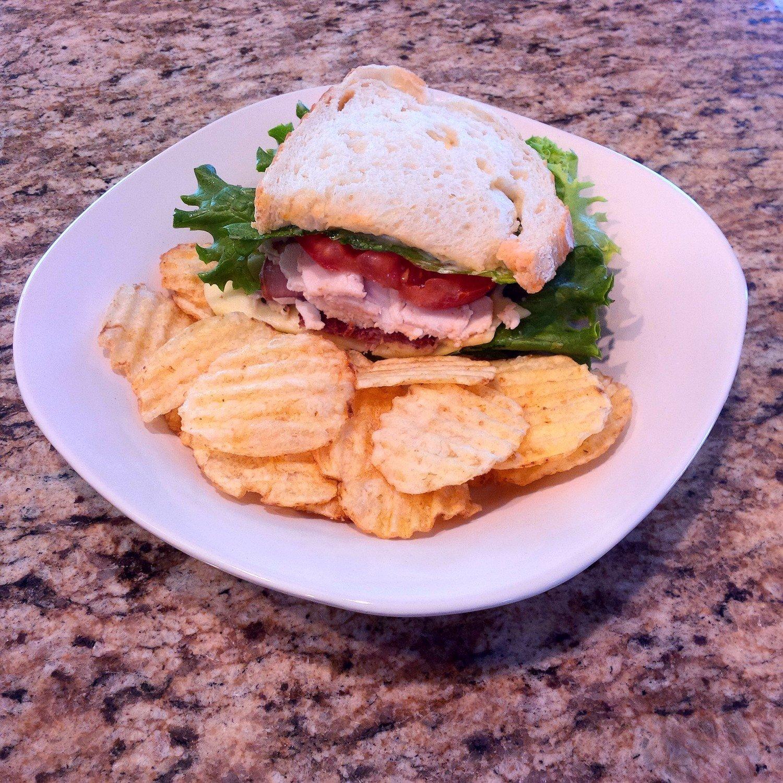 Organic Club Sandwich