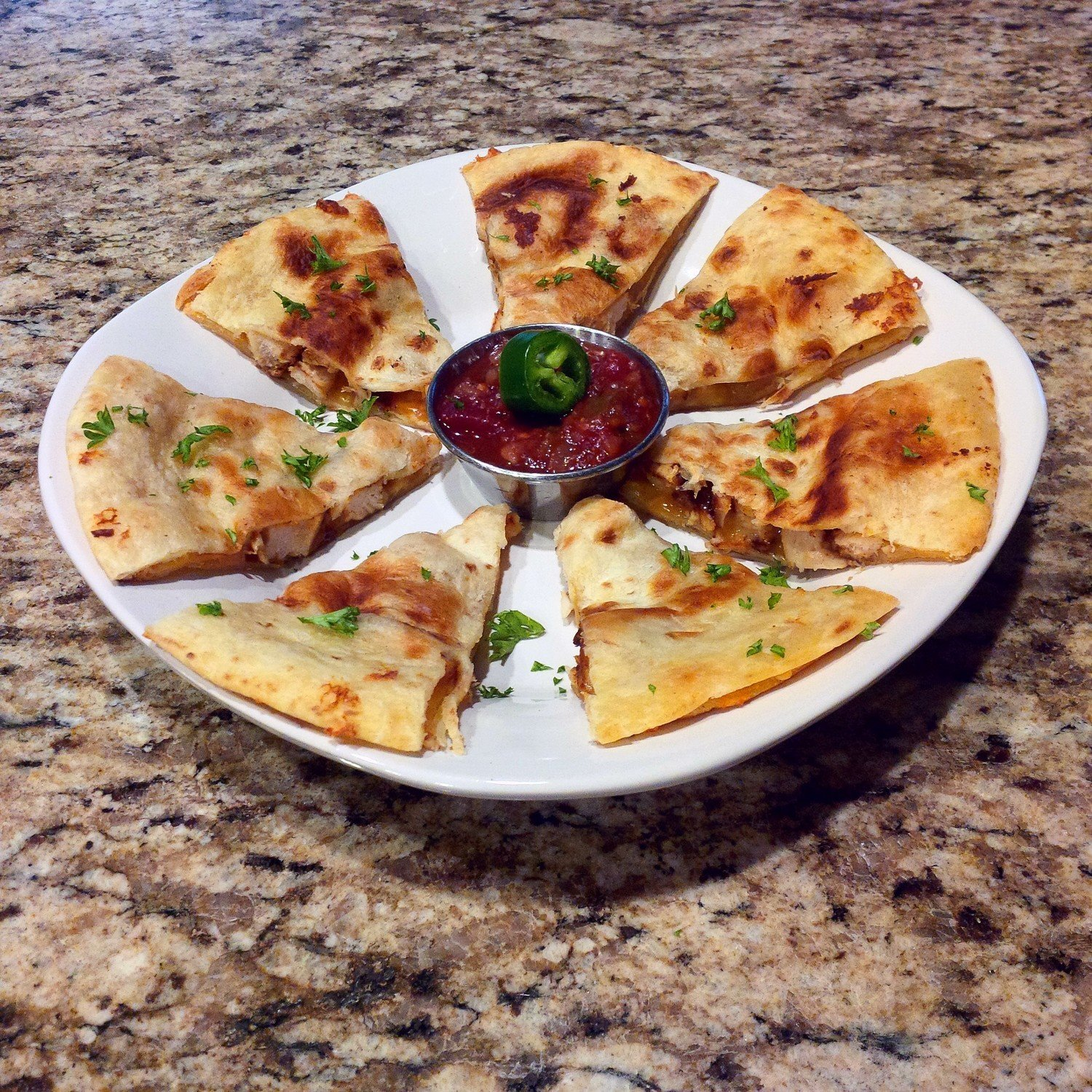 Organic Chicken Quesadilla