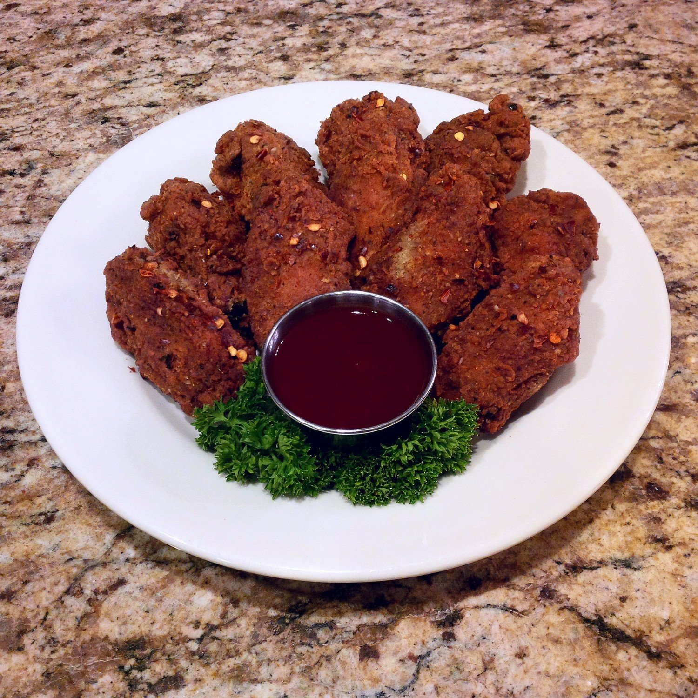 Organic Red Pepper Hot Wings