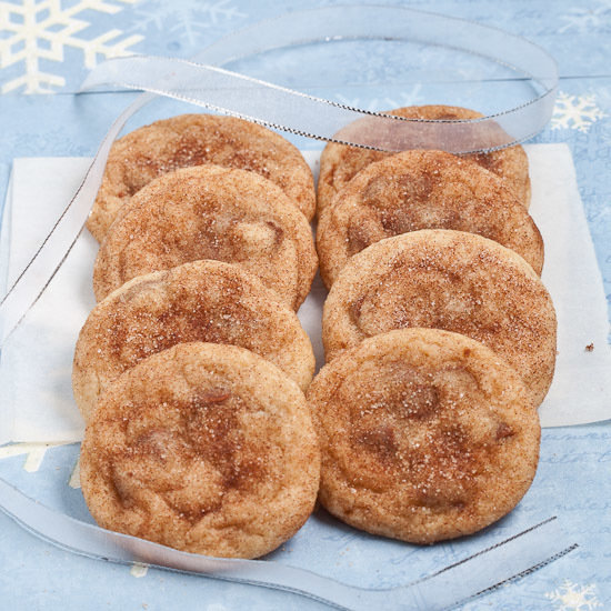 Fresh Baked Snickerdoodle Cookies