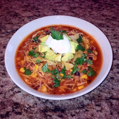Family Meal Deal - Organic Chicken Tortilla Soup