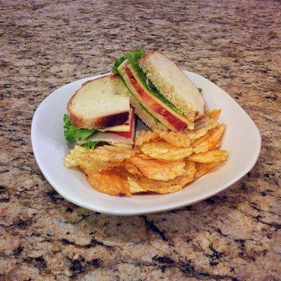 Organic Turkey Sandwich