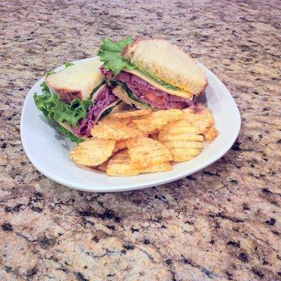 Organic Roast Beef Sandwich