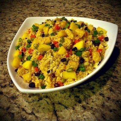 Organic Thai Pineapple Fried Rice w/ Chicken