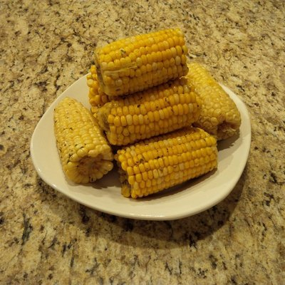 Seasoned Corn On The Cobb