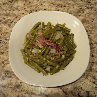 Seasoned Green Beans