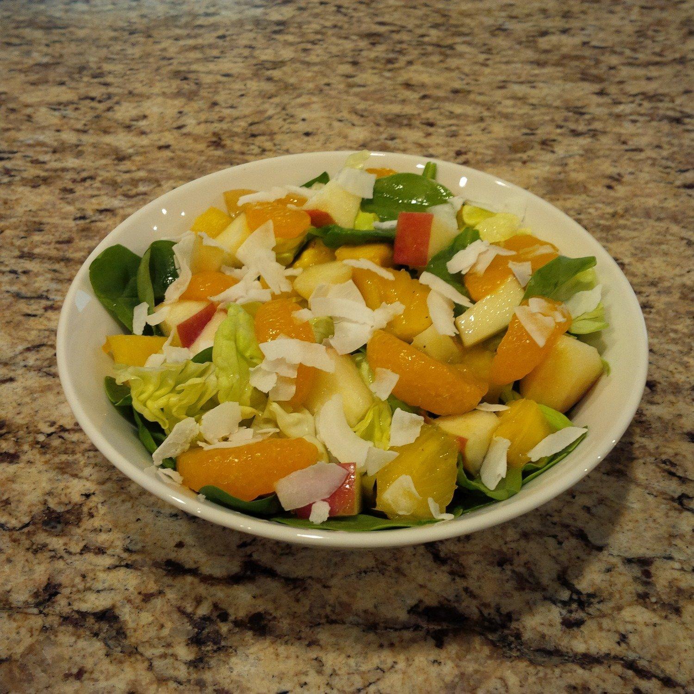 Tropical Green Salad