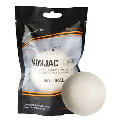 Esponja konjac natural (facial)