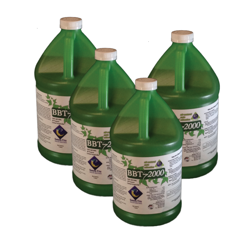 4 - 1 GALLON CASE BBT-2000