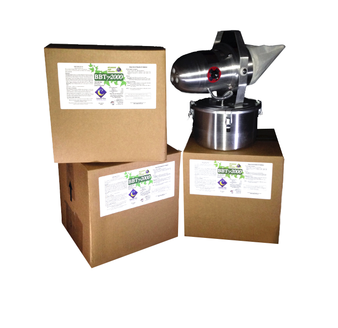 12 - 1 GALLON CASE BBT-2000 AND FOGGER