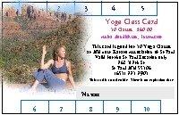 Yoga Class Card 00006