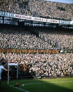 Historisch Rotterdam Feyenoord Rotterdam, Stadion de Kuip 1960, Spaarnestad Photo