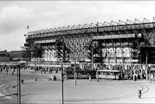 Historisch Rotterdam Feyenoord Rotterdam, Stadion de Kuip 1954, Uitgeverij Voet